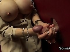 Adulterous brit milf girl sonia exposes her large boobs01