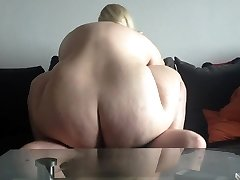 Red-hot blonde bbw amateur fucked on web cam. Sexysandy92 i met via DATES25.COM