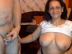 Stunning Indian Granny with her Husband