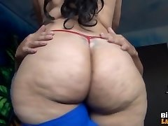 LATINA Pulverizes LIDDLE DICK PART 2