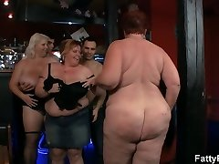 Meaty group bbw party