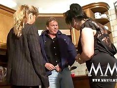 MMV Films 2 mature wifes sharing a fuck-stick
