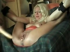 I fucked this Cougar with a hookup toy