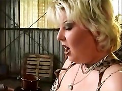 round babe well fucked and taking a facial