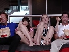 DaughterSwap - Teens Tricked Into Fucking Dads Best Acquaintance