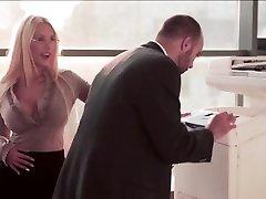 Crazy Secretary gets shag at the office