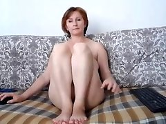 Russian momma great tits and super-cute cootchie
