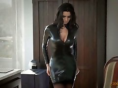 Sexy mom in spandex Ania Kinski gets drilled properly
