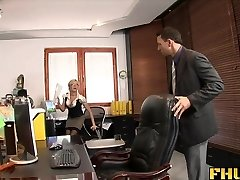 Fhuta - Caught with finger in slit, torn up by the boss