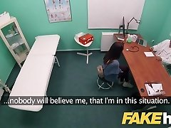 Fake Hospital Swallowing doctors hot jizz helps babes gullet