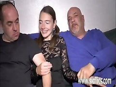 Extreme teen double fisted and fucked