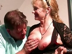 German Step-Mommy Want His Hefty Cock and Seduce him to Ravage her