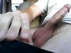 Dick Flash for college girl with big cum finish.