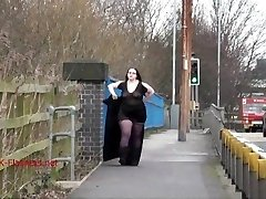 Giant Emmas public nudity and inexperienced bbw displaying outdoors with brunette exh