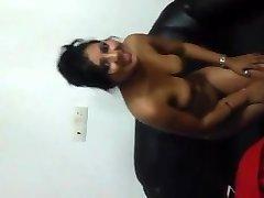 Indian Girl Demonstrating titties