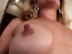 Puny saggy tits with big nipples