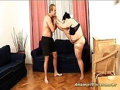 ginormous extreme flexible houswife