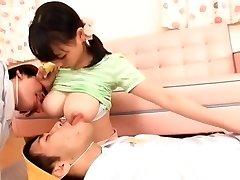 Exotic Japanese super-bitch Akane Yoshinaga in Hottest Softcore JAV movie