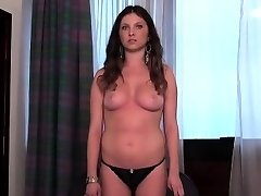 Casting babe goes home after hardcore sex and butt crevice scre
