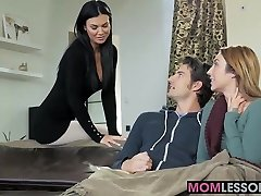 Red-hot stepmom Jasmine Jae walked in and desired to lend a arm
