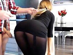 Big titties Abigail insane nylon fetish
