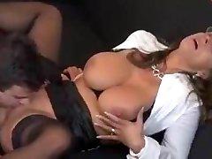 Sexy German Milf Tempts Employee