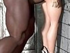 3d comic disgusting-gigantic-and-ugly-monste.     Adorable horny babe..