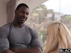 BLACKED Sugar Baby Pulverizes Bbc While Daddy Is Out