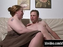 Busty german Plus-size hoe take cock