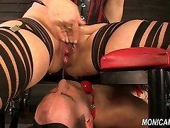 Moist and dirty female dominance from MonicaMilf - Norwegian facesitting