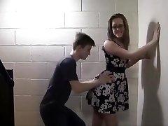 Teenagers pummel in the school