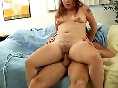 Whorey Fat Chubby Teen Ex GF loved sucking and poking-1