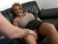 blonde milf with enormous natural tits shaved gash fuck
