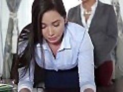 TeenCurves - Keisha Grey Plumbs Obedient Secretary Karlee Grey