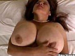 Grannie Brenda'_s bingo night turns into a masturbation frenzy