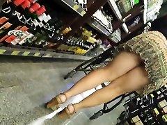 Candid Mature Panty - Big Booty Voyeur - Bendover Donk