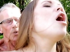 Big old boner smashes nice a very young succulent female