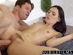 Babysitter Marley Brinx Sizzling Screw After Wife Leaves