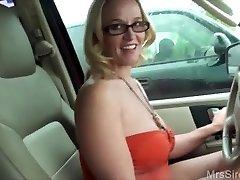 Wife Pulverizes Stranger in Backseat
