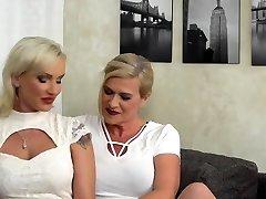 Scorching MILF doing a heavily pierced lesbian housewife