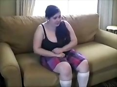 Chubby Youthfull Slut Punished With Brutal Spanking