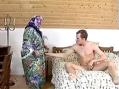 Meaty BBW Grandmother MAID FUCKED HARDLY IN THE ROOM