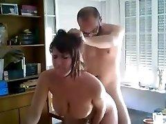 Massalina bitch wife with repairman
