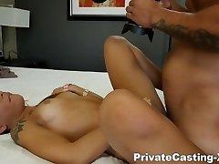 Getting Bigger fond of big cock