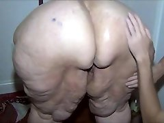 Redhead SSBBW well-lubed and washed