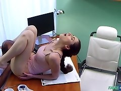 Aruna in Russian babe wants Therapists cum - FakeHospital