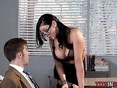 Hot for Good-sized Tit Teacher
