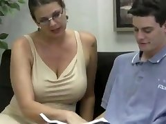 Teacher big bra-stuffers