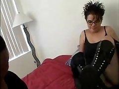 Chubby Goth Schoolgirl
