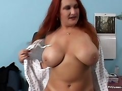 Mature Red-haired with Thick Boobs gets Scammed by Doctor